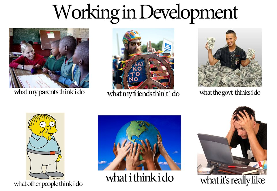 Working In Development1 the global giggle these are a few of my favorite memes american