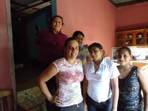 Members of the Waslala Association of Entrepreneurial Women in Nicaragua.