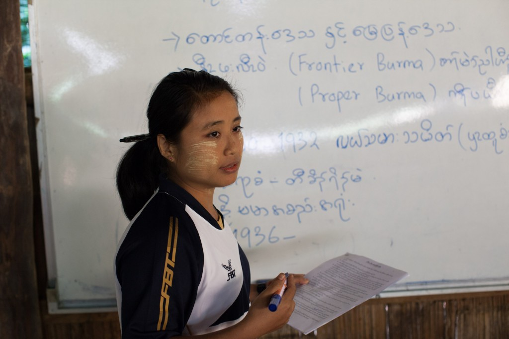 Wah Thoo Lah, principal of Karen Young Women's Leadership School