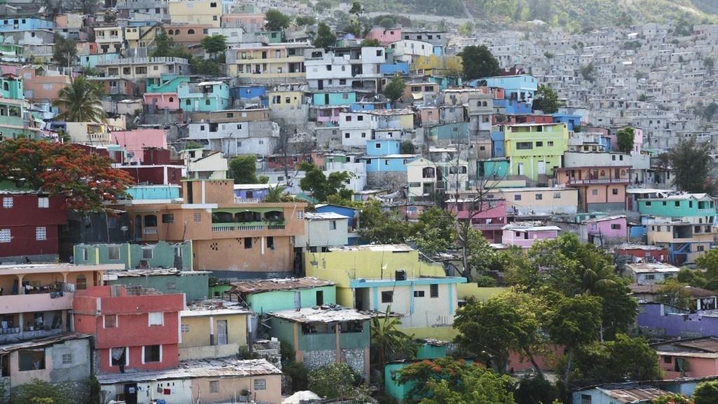Jalousie, a shantytown in Haiti