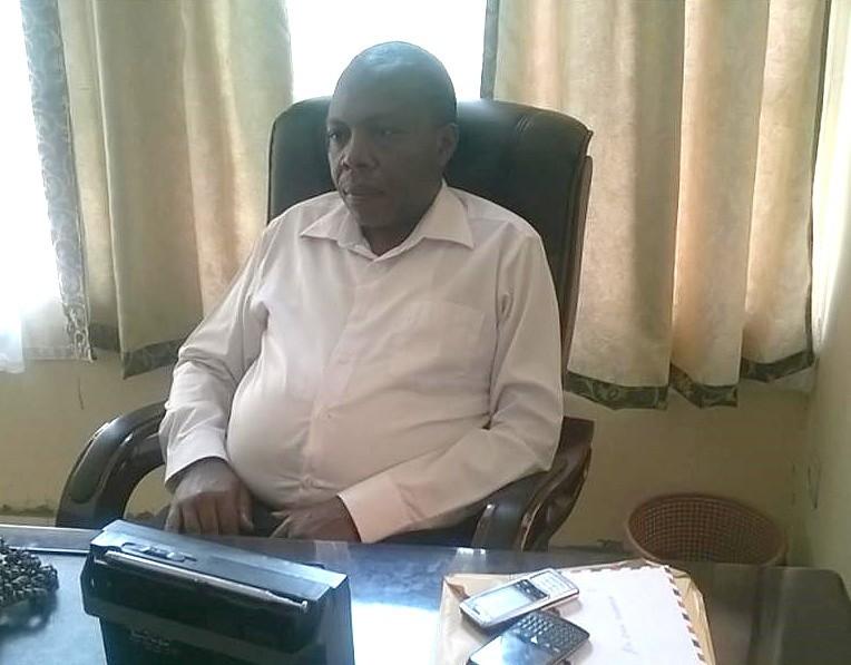 Eric Kajemba, founder and director of AJWS grantee L'Observatoire Gouvernance et Paix (OGP)