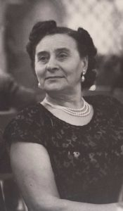 """In her youth, Beatrice """"Brana"""" Schear joined the Jewish Labor Bund, a Jewish democratic socialist party in tsarist Russia, later settling in the United States."""