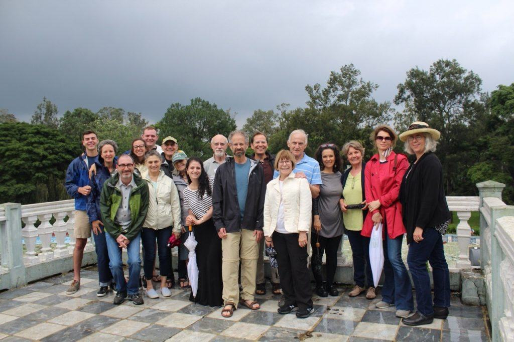 AJWS staff and supporters in Guatemala, visiting grassroots organizations that AJWS supports.